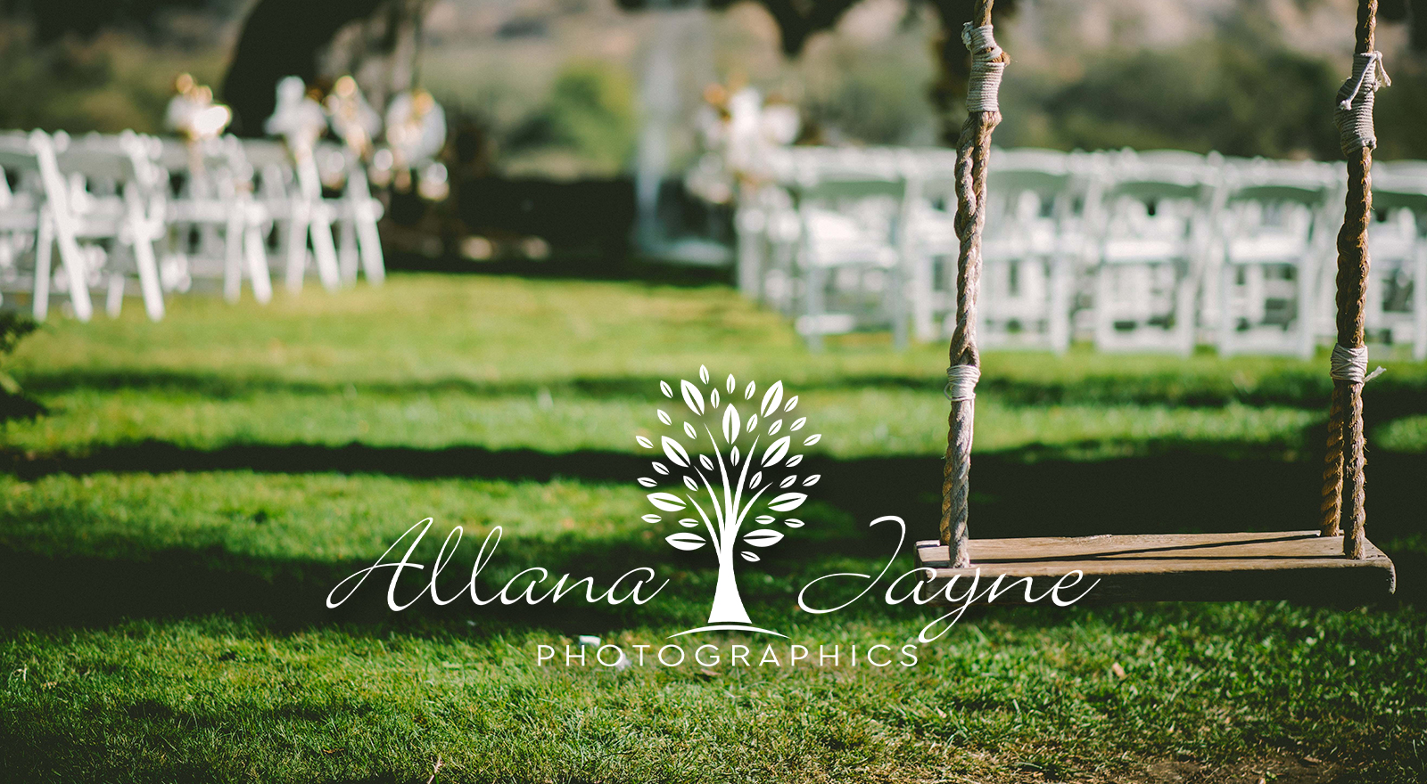 Allana Jayne Photographics logo design