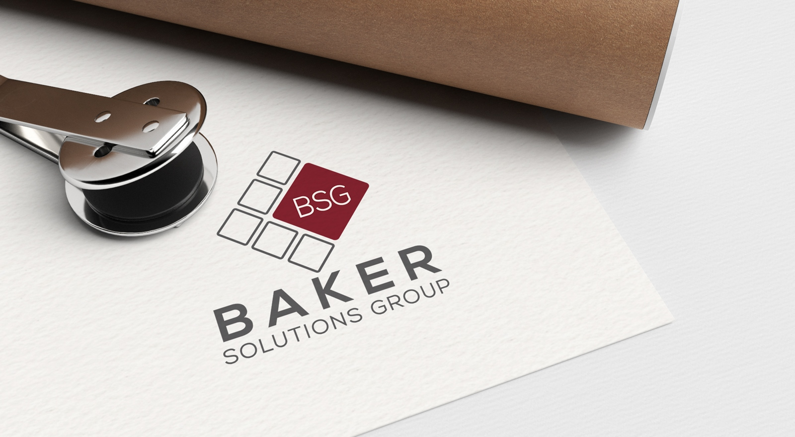 Logo Redesign for Baker Solutions Group