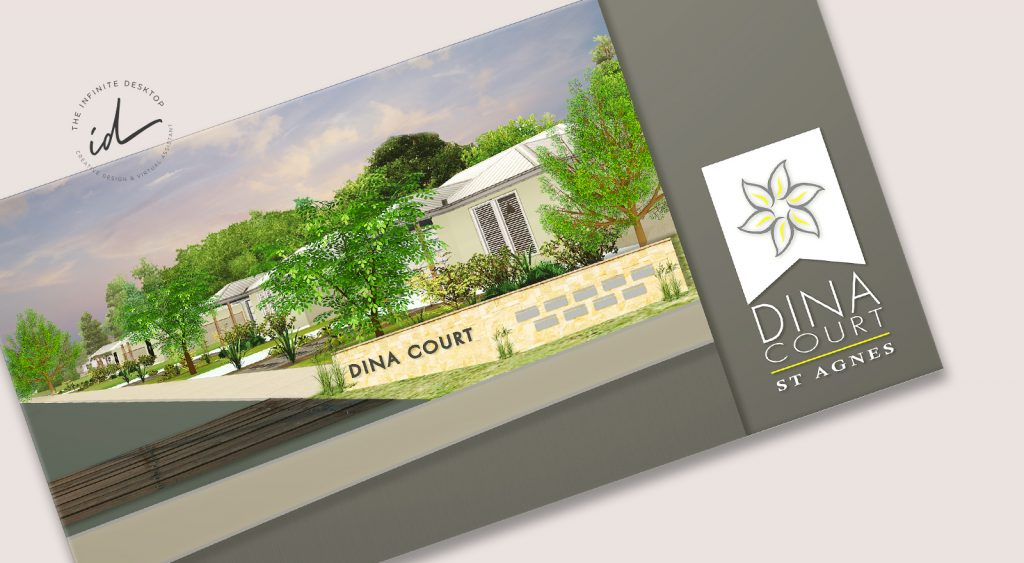 DINA COURT BROCHURE + ARTIST IMPRESSION