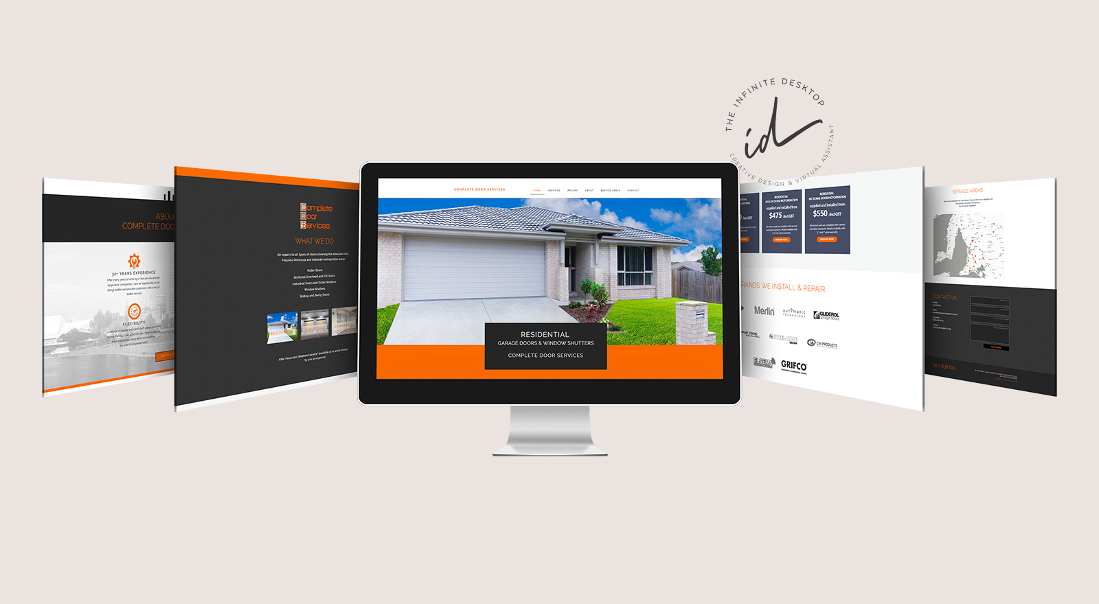 New website for Complete Door Services