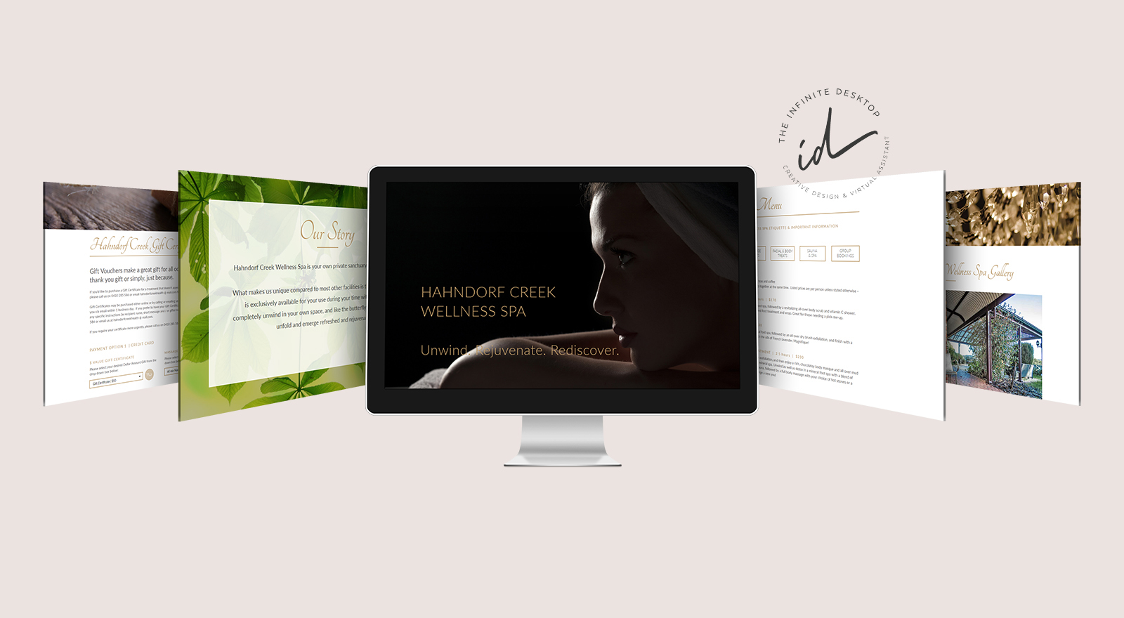 Website Makeover for Hahndorf Creek Day Spa