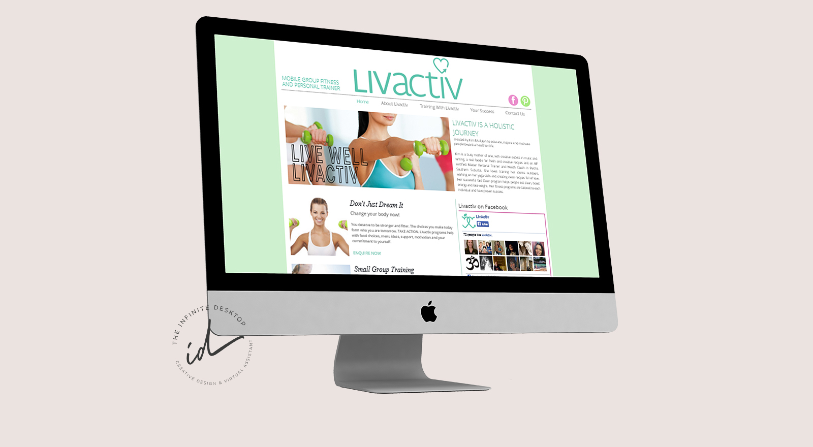 Website Redesign for Livactiv