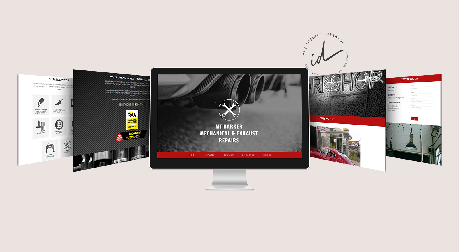New website for Mt Barker Mechancial