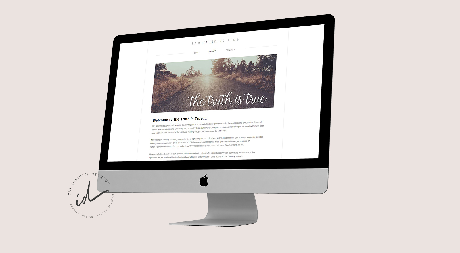 The Truth Is True web design