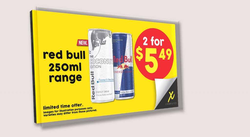 X CONVENIENCE INSTORE LED SCREENS