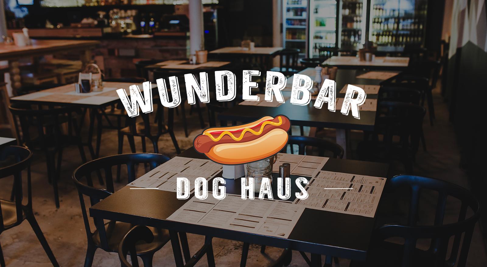 Wunderbar Dog Haus Logo