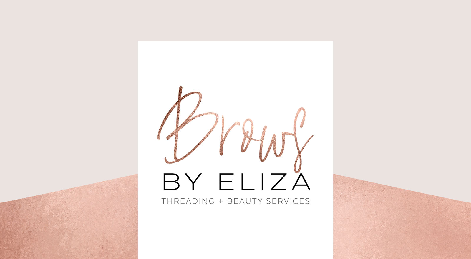 Logo Design for Brows By Eliza