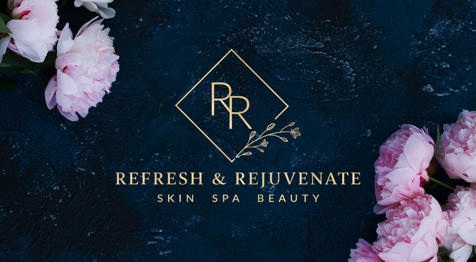 Logo redesign for Refresh & Rejuvenate Skin Spa Beauty